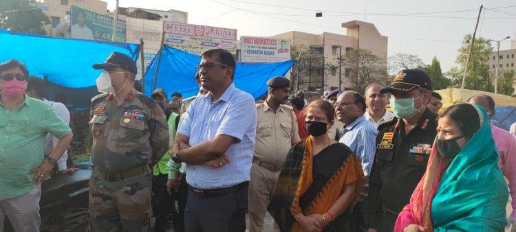 बिहार में पहला डिसइन्फेक्शन टनेल का शुभारम्भ विदेशों के तर्ज पर अब पटना के लोगो को किया जाएगा सेनेटाइज।