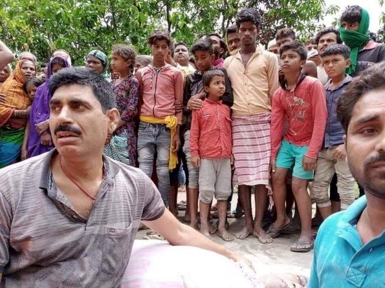 बिहार में आसमानी कहर से करीब 11 से ज्यादा लोगो की मौत, 9 लोग बुरी तरह झुलसे।