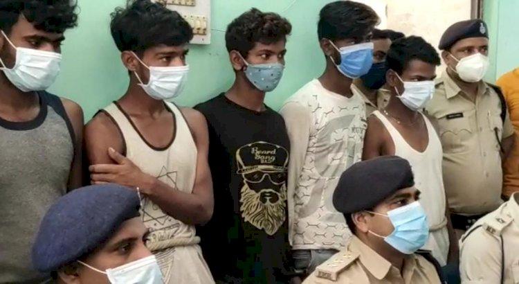 एएसपी के निर्देश पर बंधन बैंककर्मी से लूट की घटना का 48 घन्टे के अंदर सफल उद्भेदन।